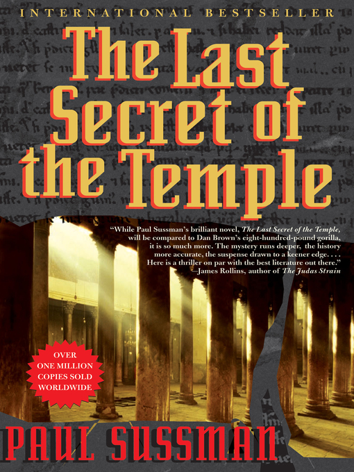 Title details for The Last Secret of the Temple by Paul Sussman - Available